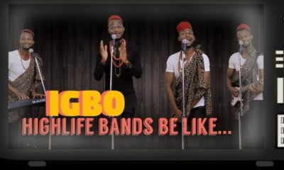 "EmmaOhMaGod's Igbo Highlife rendition of Olamide's ""Wo"" & ""Science Student"" is ?