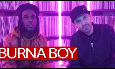 Burna Boy swings by Tim Westwood TV for Interview + Freestyle Session | WATCH