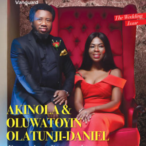 Akin & Toyin Olatunji-Daniel of Eventecture Cover Vanguard Allure's Wedding Issue