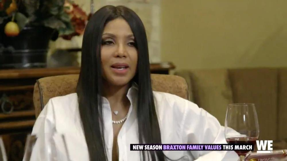 Toni Braxton Confirms Engagement in New Trailer for 'Braxton Family Values'