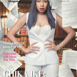 Road to Harvard! Chike Ike covers Vanguard Allure's Latest Issue