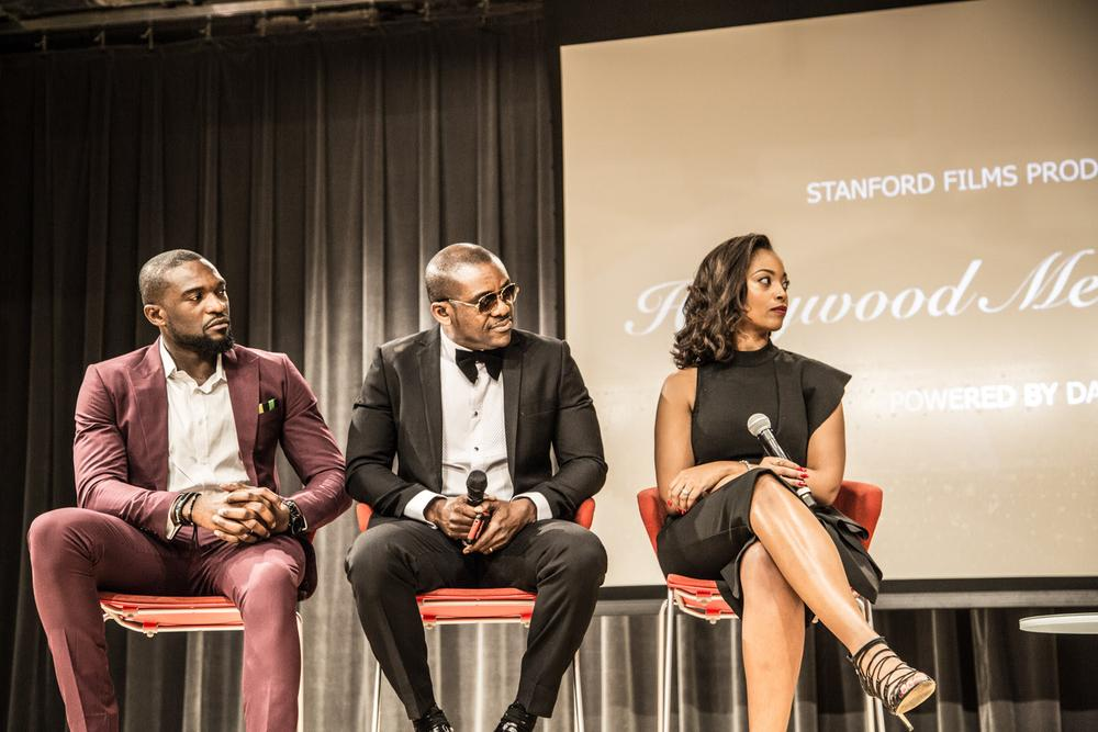 Hollywood Meets Nollywood Kenneth Okolie Attends Maiden