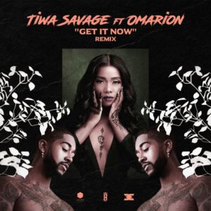 "The Queen! 🙌 Tiwa Savage features Omarion on Remix for Hit Single ""Get It Now"" 
