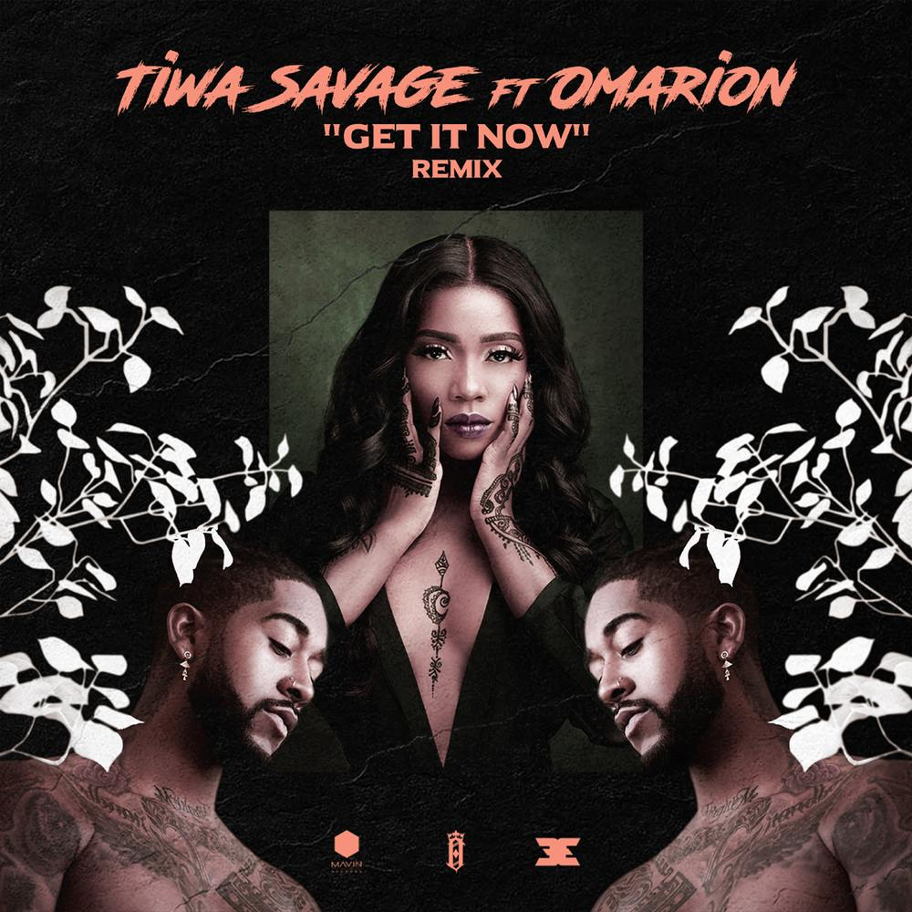 "The Queen! ? Tiwa Savage features Omarion on Remix for Hit Single ""Get It Now"" 