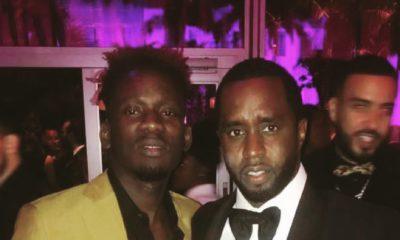 Detty Boy to the World! Mr Eazi joins Diddy, Chadwick Boseman, Lupita Nyong'o at Vanity Fair/Apple Music #Oscars Dinner