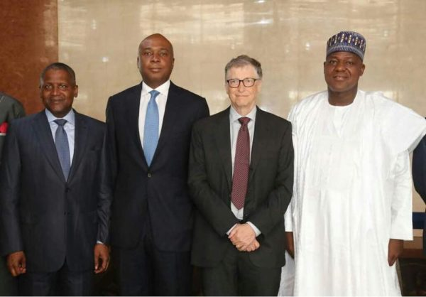 Bill Gates urges Nigerian Government to invest more in Health & Education - BellaNaija