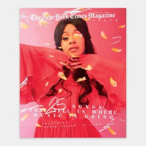 Cardi B, SZA, Gucci Mane & King Krule cover New York Times Magazine's Latest Issue