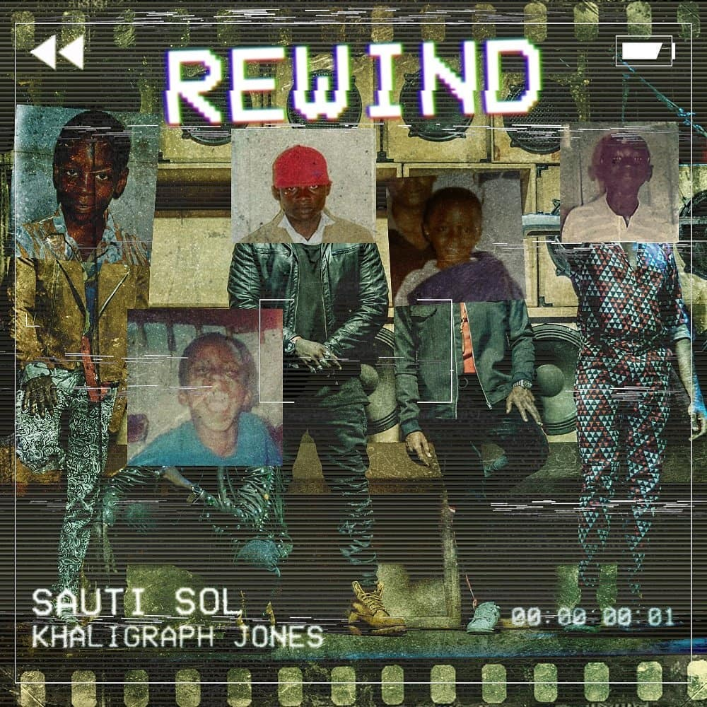 """Sauti Sol are clicking the """"Rewind"""" button with Khaligraph Jones in New Music Video 