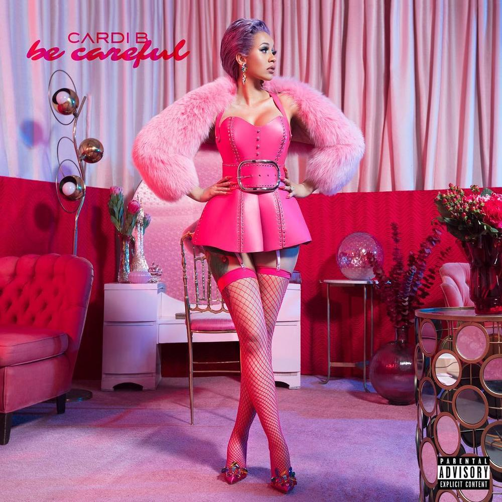 Cardi B Unveils Her Entire Back Tattoo With Bright Pink: Cardi B Unveils New Single Ahead Of Debut Album Release