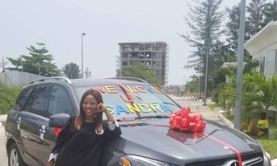 Linda Ikeji buys New Mercedes Benz GLE for Sister Sandra