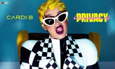 "Cardi B unveils Cover Art for Debut Album ""Invasion of Privacy"", Set for April 6th Release"