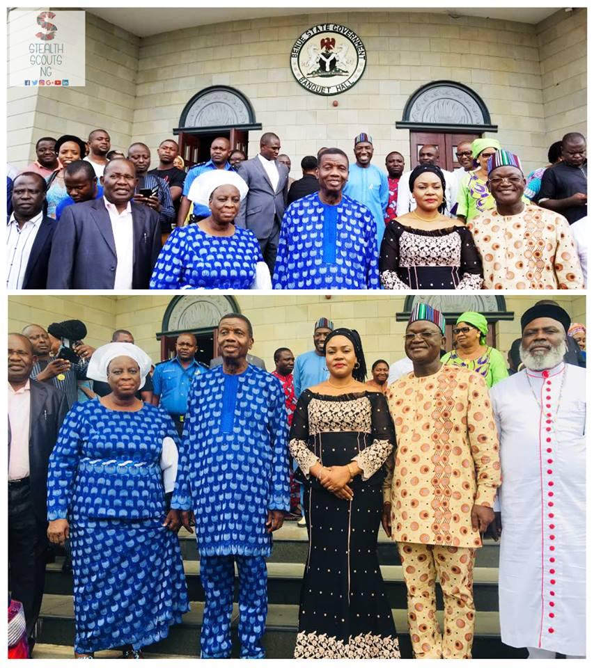 Pastor Adeboye visits Benue State - BellaNaija