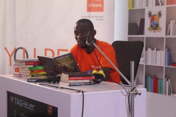 "Nigeria's Bayode Treasures-Olawunmi breaks Guinness World Record for ""The Longest Reading Marathon"" ?? - BellaNaija"