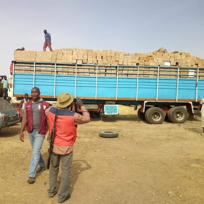 Truck Load of Codeine seized by NDLEA - BellaNaija