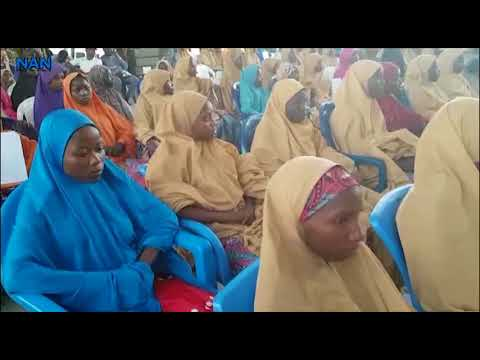 WATCH the Nigerian Army handover Release #DapchiGirls to FG - BellaNaija