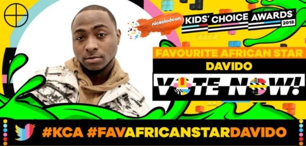 Davido & Emmanuella nominated for Nickelodeon Kid's Choice Award! ? - BellaNaija
