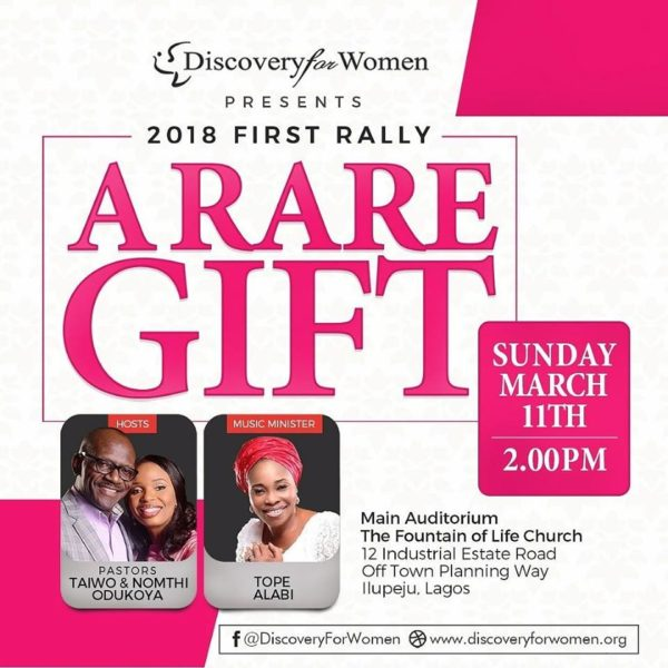 Discovery for Women Rally