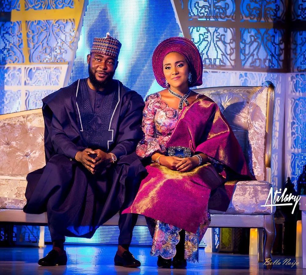 7.) Fatima Dangote and Jamil Abubakar