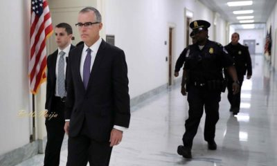 US Attorney General sacks FBI Deputy Director Andrew McCabe