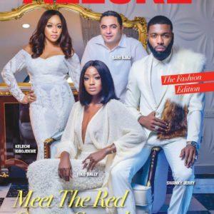 Red Carpet Squad! Swanky Jerry, Tolu Bally, Sari Ajaj & Kelechi Igbojekwe cover Vanguard Allure's latest Issue