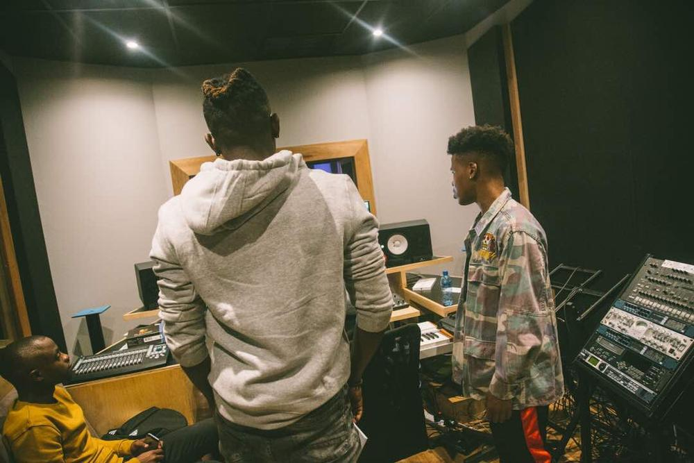 Ycee & Nasty C link up in South Africa to work on New Music