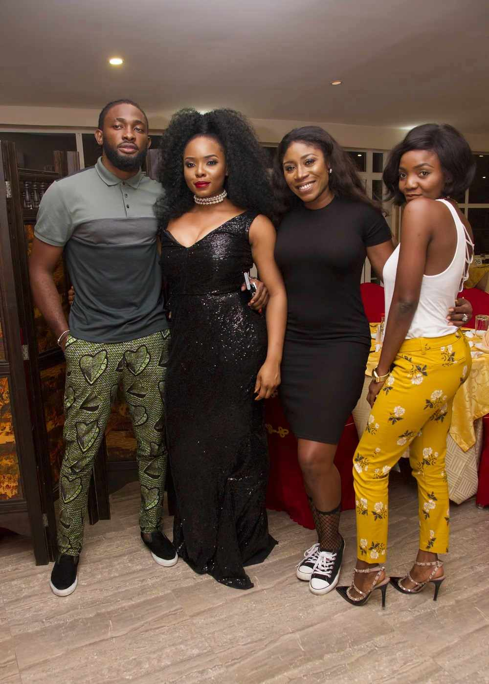 Adekunle Gold, DJ Cuppy, Simi join Yemi Alade for Celebratory Birthday Dinner