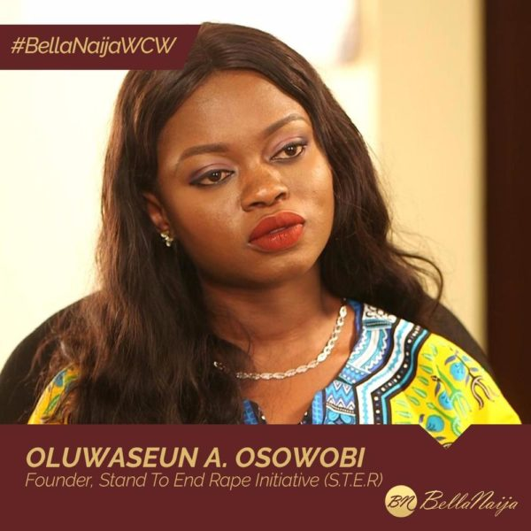 "From Survivor to Advocate! #BellaNaija Oluwaseun Ayodeji Osowobi wants Everyone to ""Stand to End Rape"""