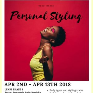 personal styling training course