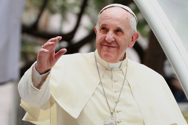 """God made you like this. God loves you like this."" - Pope Francis tells Gay Man 