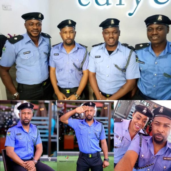 Ruggedman speaks out on his #Trending Police Photos - BellaNaija