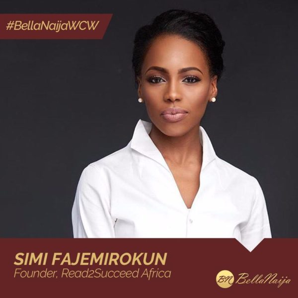 How #BellaNaijaWCW Simi Fajemirokun of R2S Africa is Improving Public Primary School Education in Nigeria