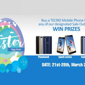 TECO Easter Egg Hunt Promo