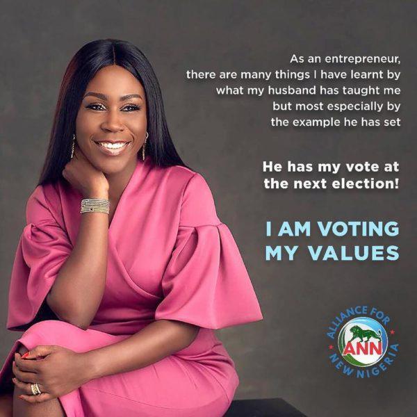 """""""You have my vote next election"""" - Tara Durotoye to husband Fela - BellaNaija"""
