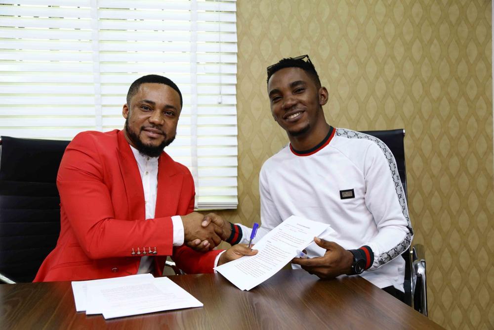 Tim Godfrey launches ROX Nation, signs Okey Sokay, IBK, Blessyn & SMJ