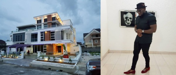 Nigerian Singer And Top Dancehall Act Timaya Is Celebrating The Purchase Of  A New House For Himself. The Dem Mama Records Boss Acquired The Lovely  Edifice ...