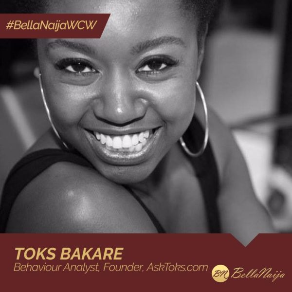 Autism Awareness Advocate & Behaviour Analyst Toks Bakare of AskToks.com is our #BellaNaijaWCW this Week