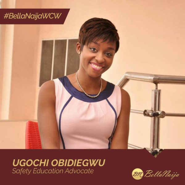 """The Safety Chic"" Ugochi Obidiegwu of Ulomka Multi Solutions is our #BellaNaijaWCW this Week"