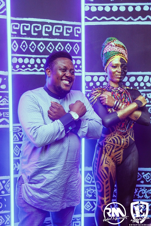 #WakandaForever: Yemi Alade throws #BlackPanther Themed Birthday Party 🎉