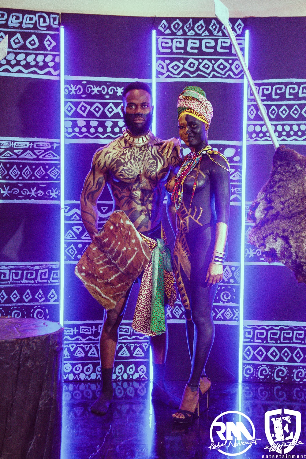 #WakandaForever: Yemi Alade throws #BlackPanther Themed Birthday Party ?