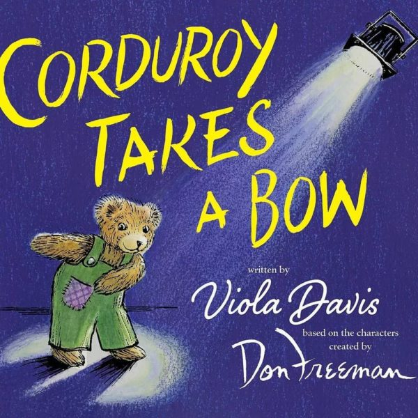 "Viola Davis announces Children's Book ""Corduroy Takes a Bow"" - BellaNaija"