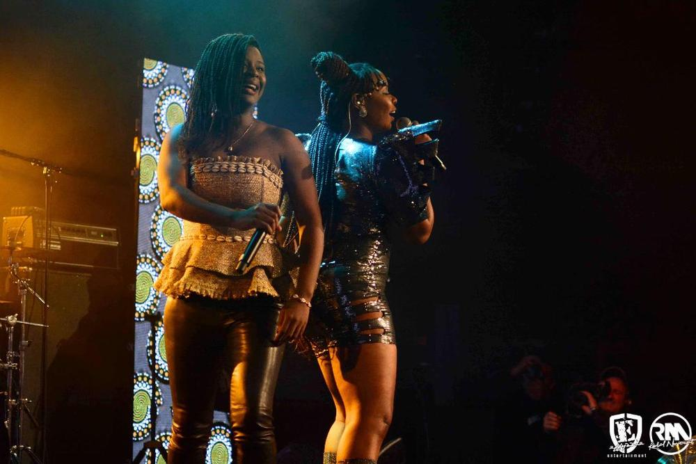 Yemi Alade thrills Fans in Paris alongside MHD, Youssoupha, Admiral T   WATCH