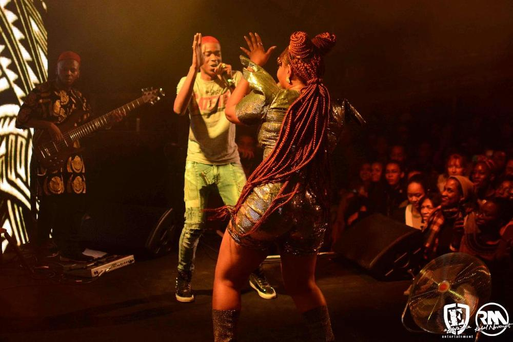 Yemi Alade thrills Fans in Paris alongside MHD, Youssoupha, Admiral T | WATCH