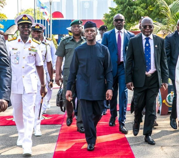 """Boko Haram is no longer a serious fighting force"" - Yemi Osinbajo - BellaNaija"