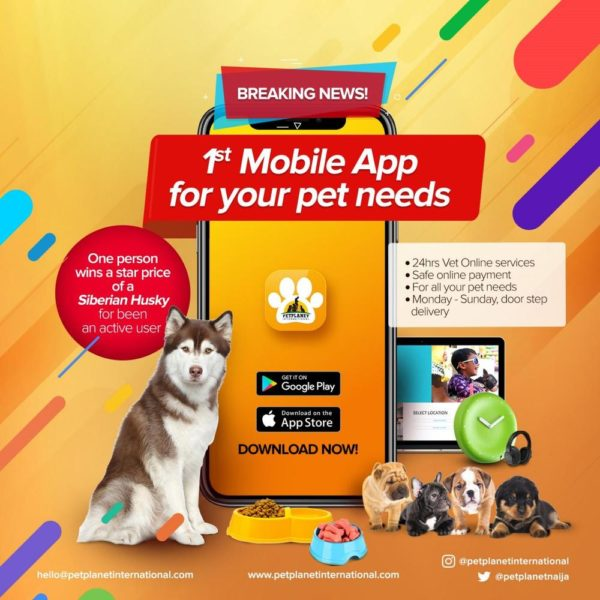 Pet Planet International App