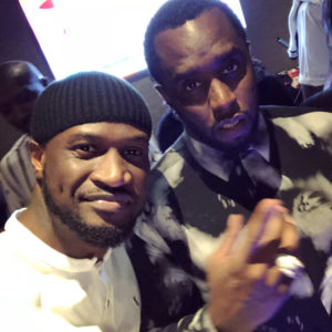 "Mogul Link Up! Peter ""Mr P"" Okoye hangs out with Diddy & Cassie in Abu Dhabi"