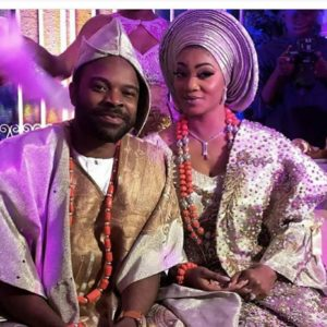 #GBank2018: Banky W, Adesua Etomi, Mo'Cheddah at Nollywood Actor Gabriel Afolayan & Banke's Traditional Wedding   First Photos
