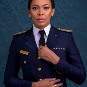 TBoss looks Fab in a Uniform! ?