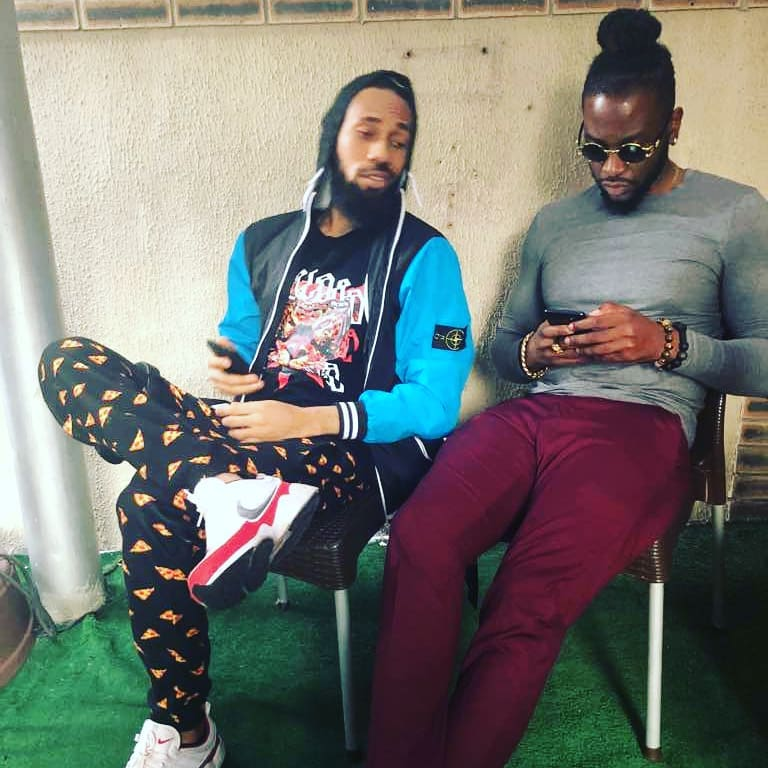 Another Collaboration? #BBNaija's Teddy A spotted with Phyno