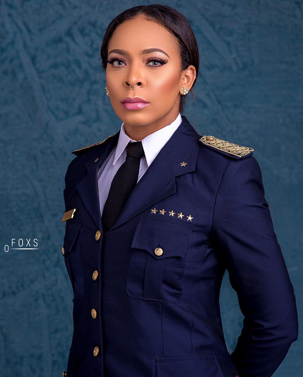 TBoss looks Fab in a Uniform! ?