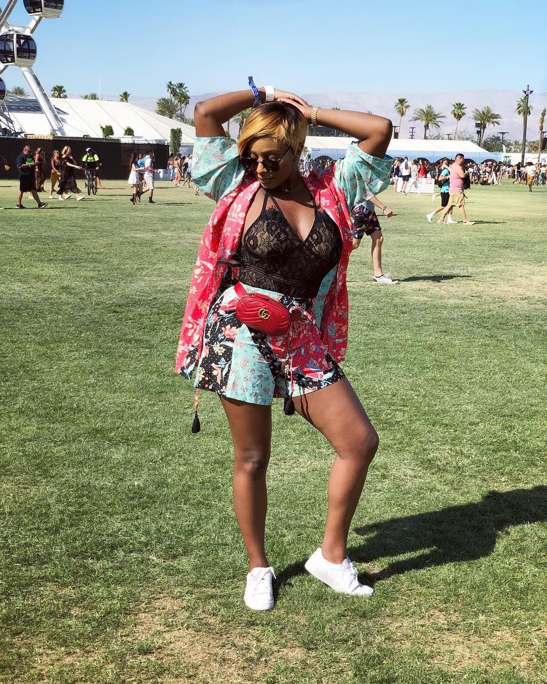 DJ Cuppy & Asa Asika take Coachella! 💕